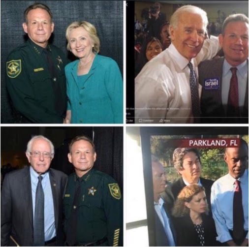 Broward County Sheriff Pals Around With Hillary Clinton